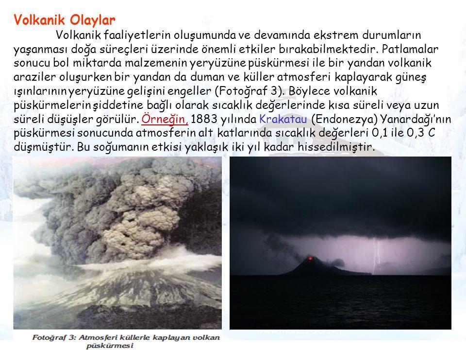 Volkanik Olaylar