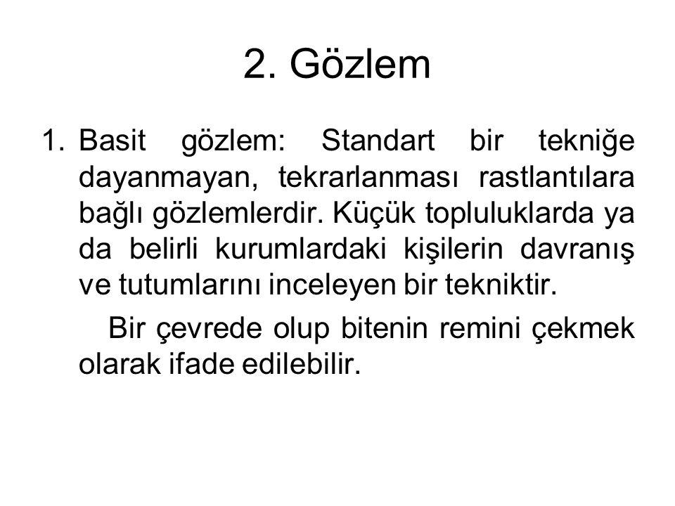 2. Gözlem