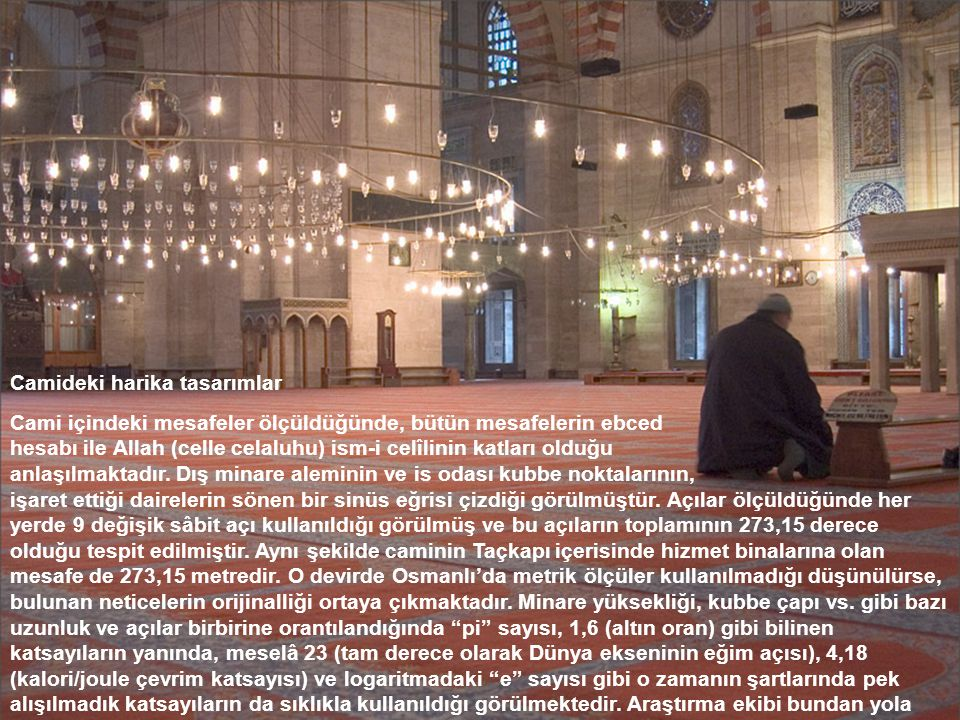 Camideki harika tasarımlar