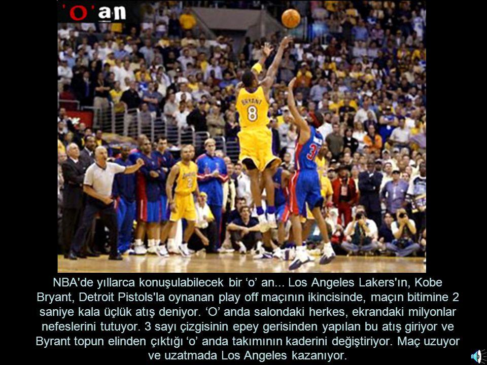NBA de yıllarca konuşulabilecek bir 'o' an