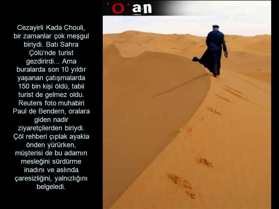 Cezayirli Kada Chouli, bir zamanlar çok meşgul biriydi