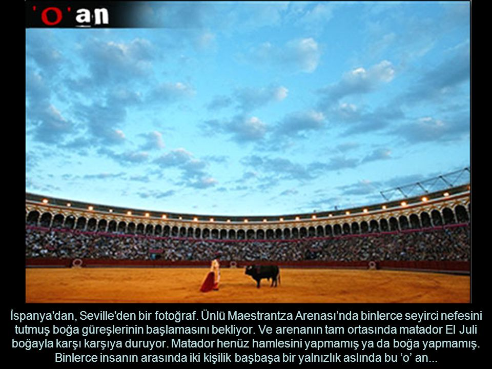 İspanya dan, Seville den bir fotoğraf