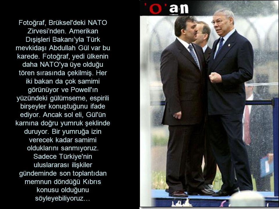 Fotoğraf, Brüksel deki NATO Zirvesi'nden