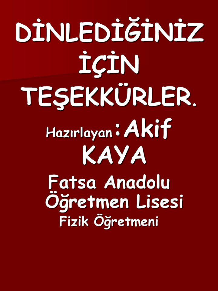 Fatsa Anadolu Öğretmen Lisesi
