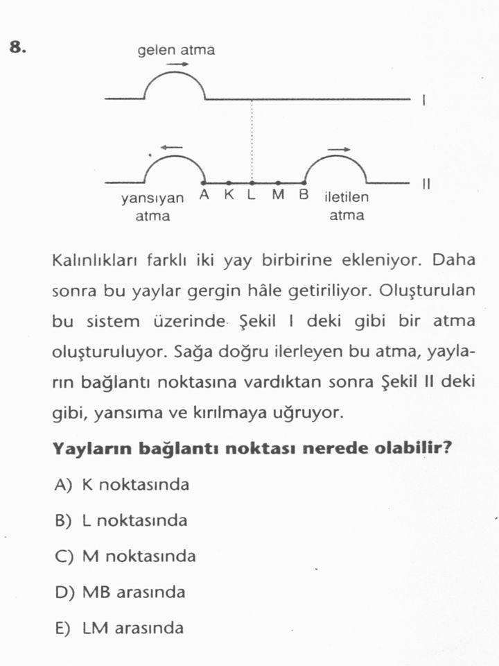 Bu tür Öğrenme Işığında Fizik Öğreniminin Mevcut Durumu
