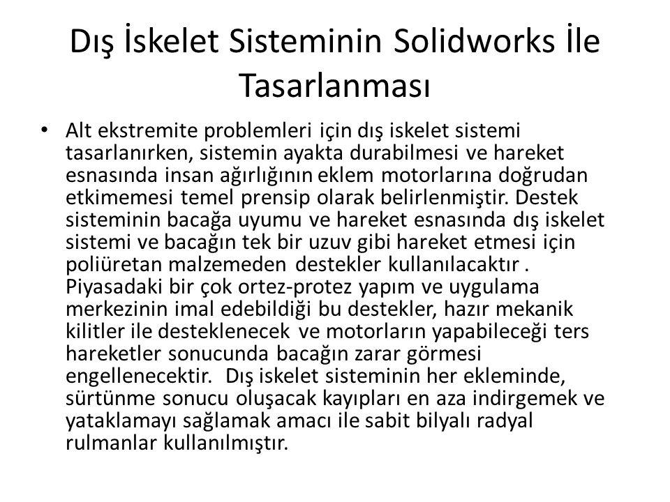 Dış İskelet Sisteminin Solidworks İle Tasarlanması