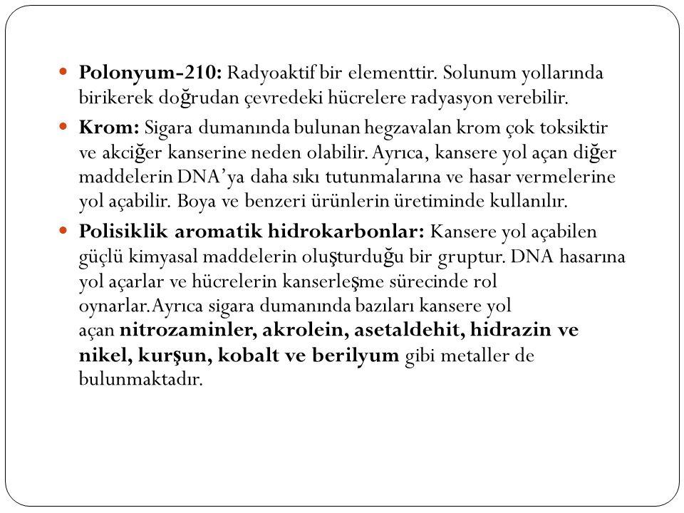 Polonyum-210: Radyoaktif bir elementtir