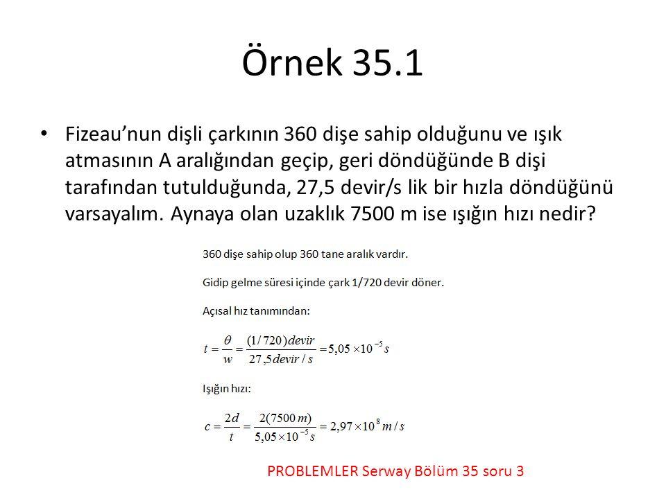 Örnek 35.1