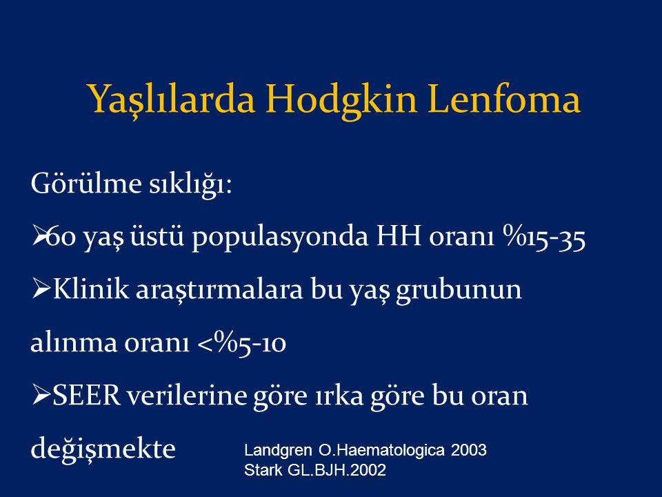 Yaşlılarda Hodgkin Lenfoma