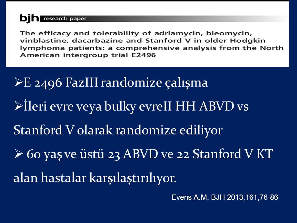 E 2496 FazIII randomize çalışma