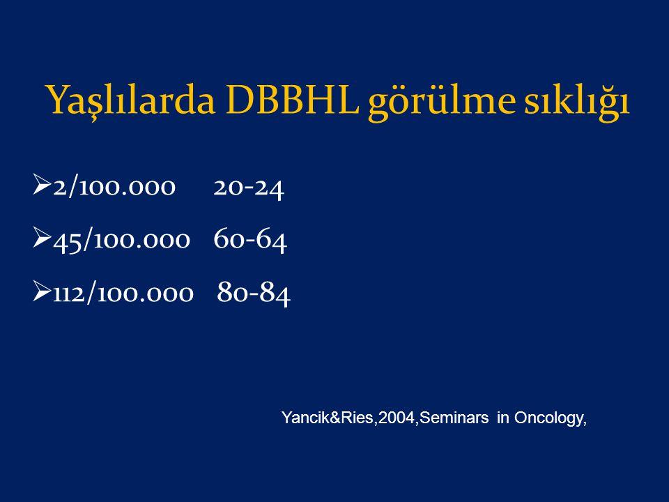 Yaşlılarda DBBHL görülme sıklığı