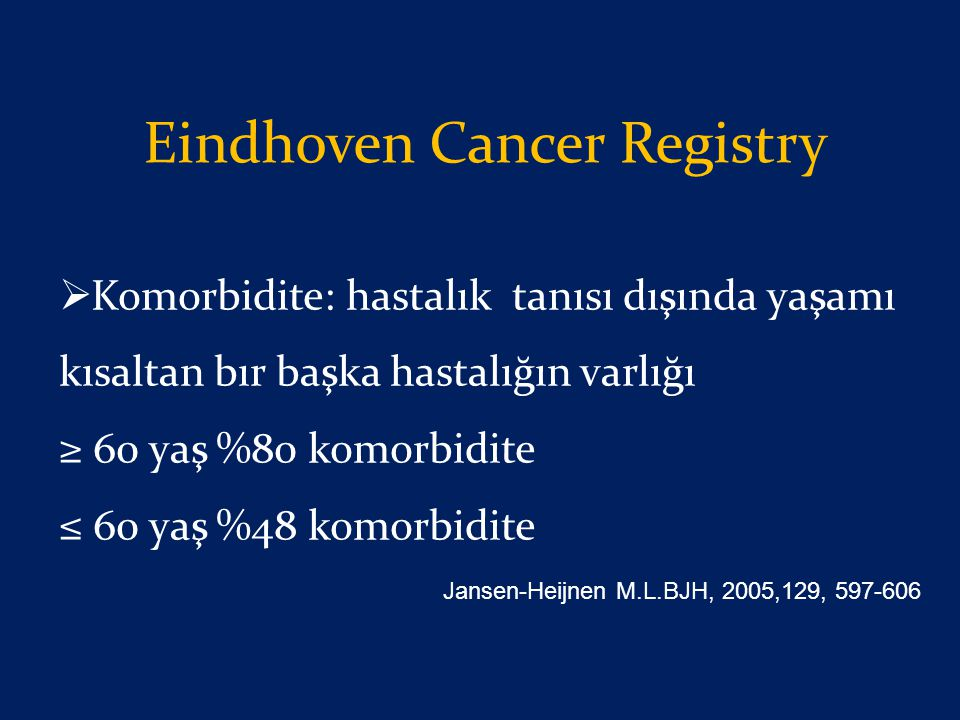 Eindhoven Cancer Registry
