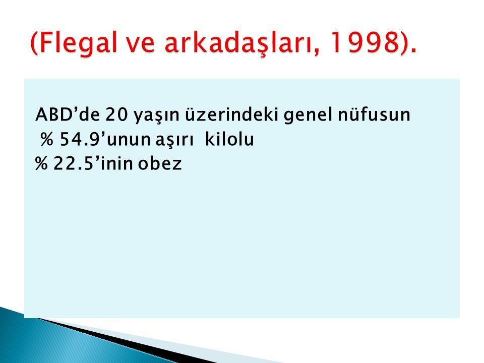 (Flegal ve arkadaşları, 1998).