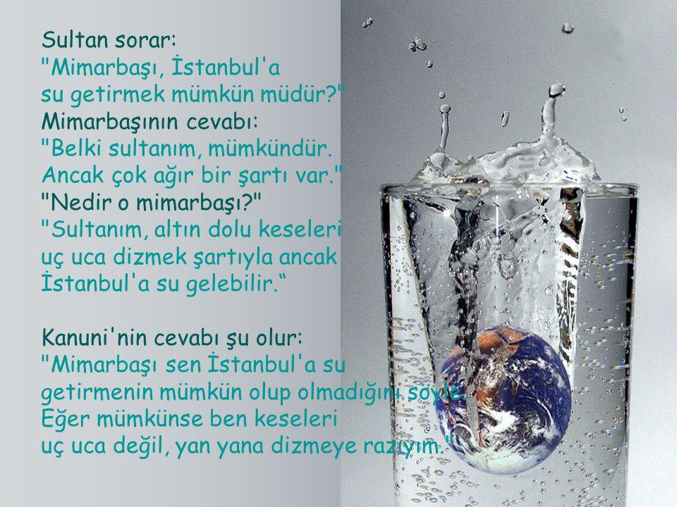 Sultan sorar: Mimarbaşı, İstanbul a