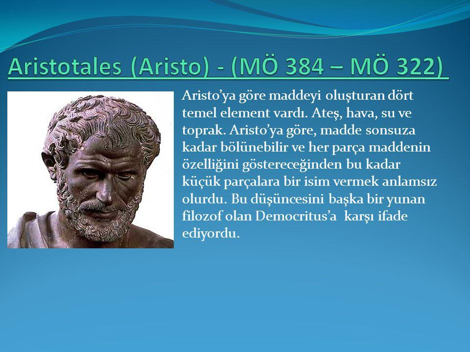 Aristotales (Aristo) - (MÖ 384 – MÖ 322)