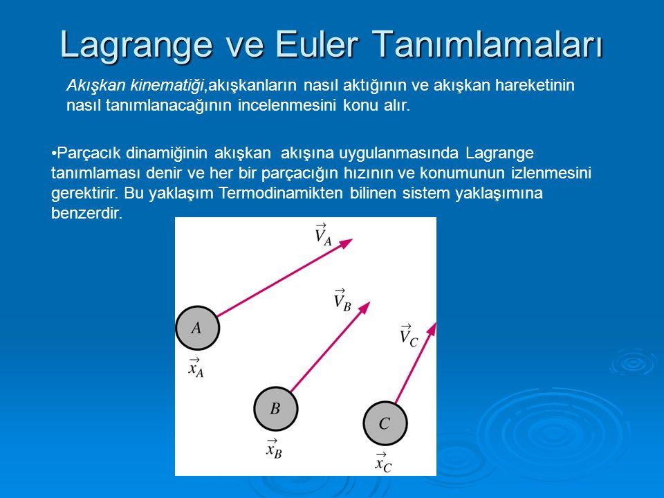 Lagrange ve Euler Tanımlamaları