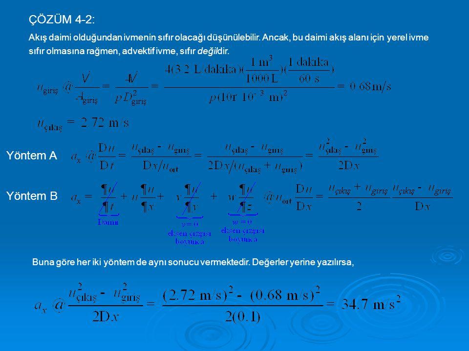 ÇÖZÜM 4-2: Yöntem A Yöntem B
