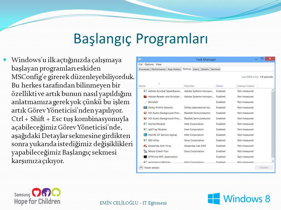Başlangıç Programları