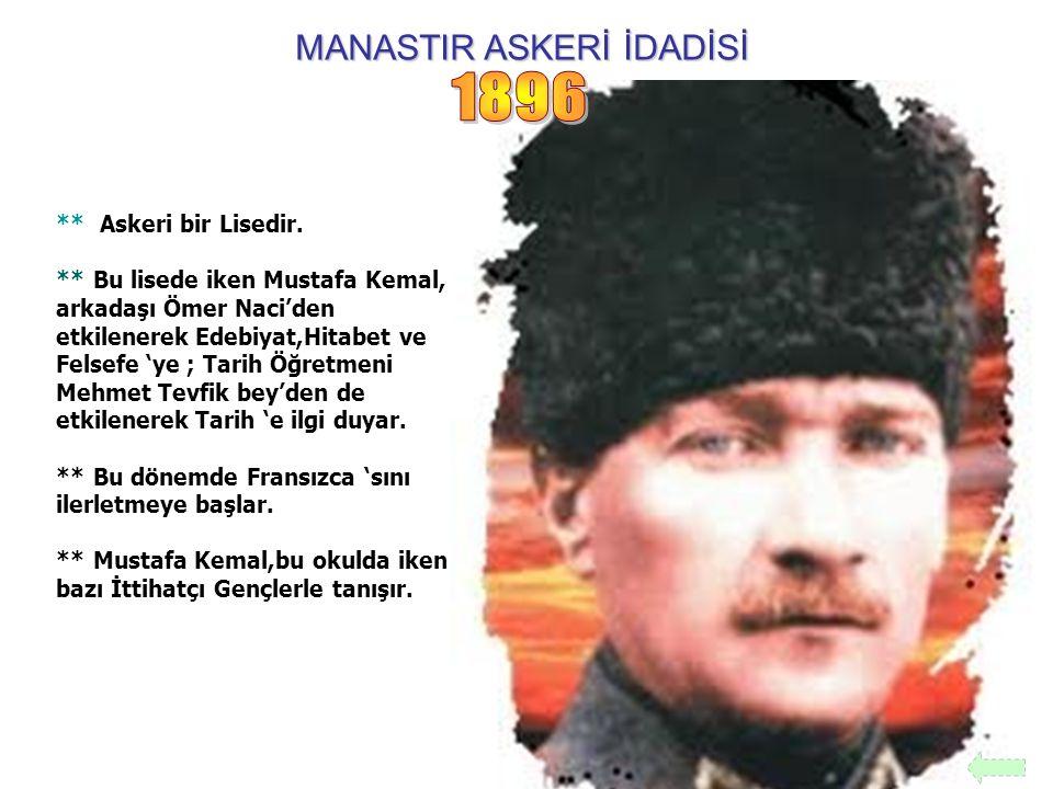 MANASTIR ASKERİ İDADİSİ