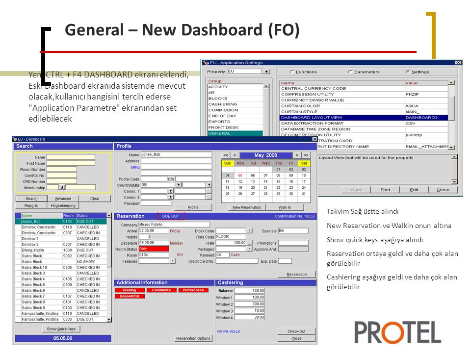 General – New Dashboard (FO)