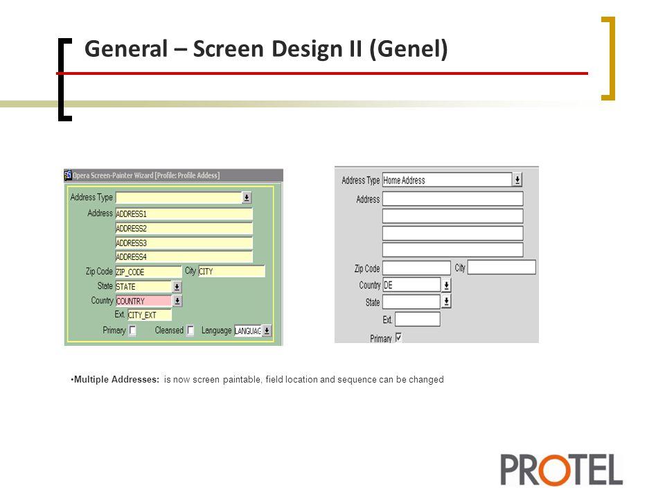 General – Screen Design II (Genel)