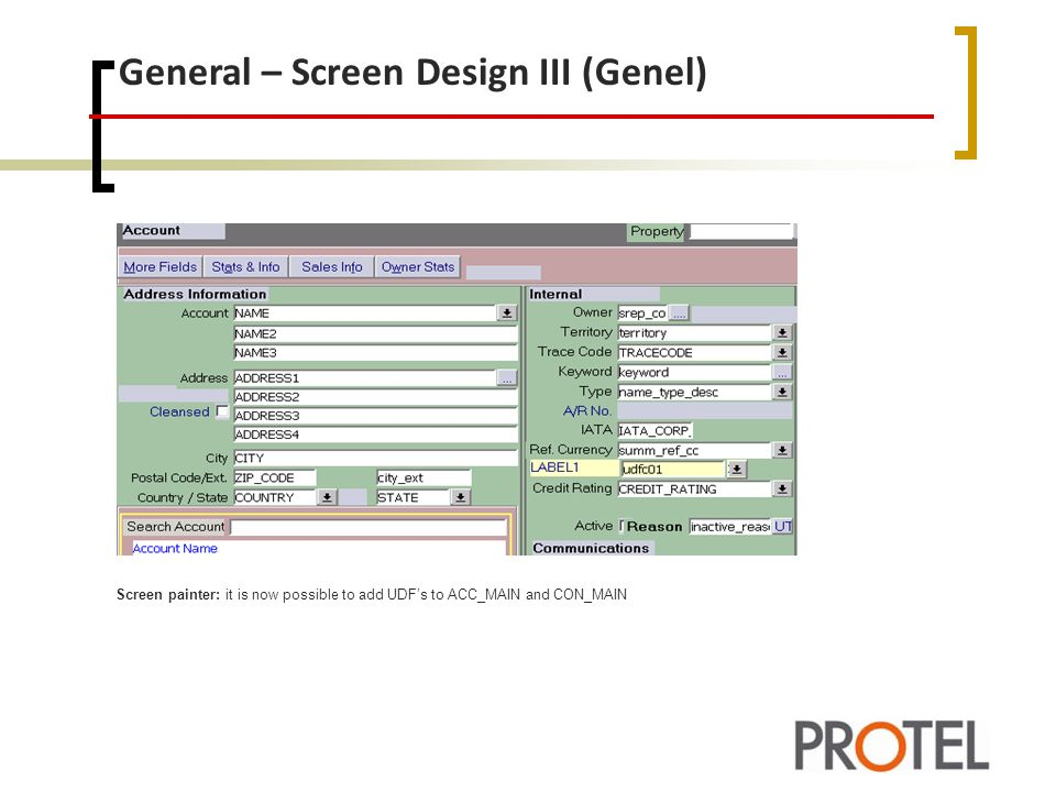 General – Screen Design III (Genel)