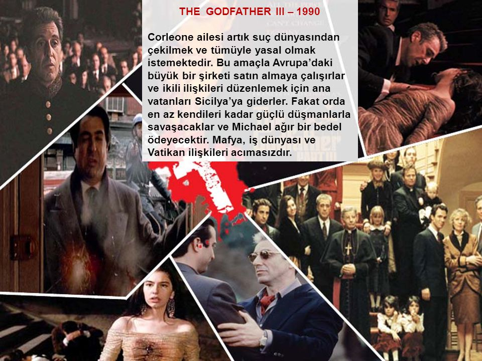 THE GODFATHER III – 1990