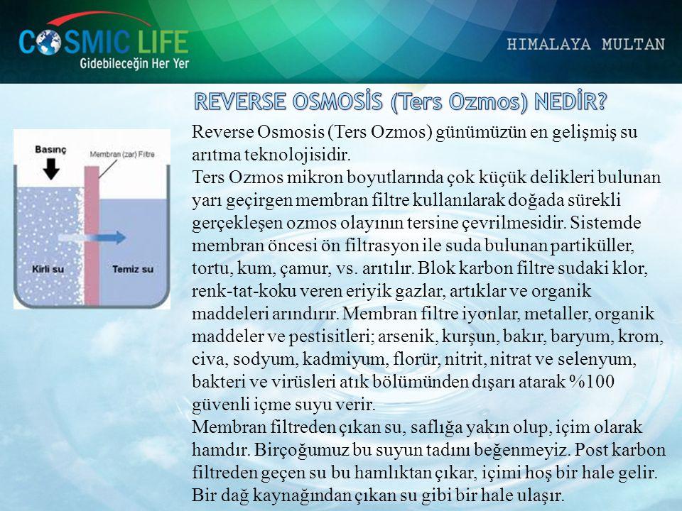REVERSE OSMOSİS (Ters Ozmos) NEDİR