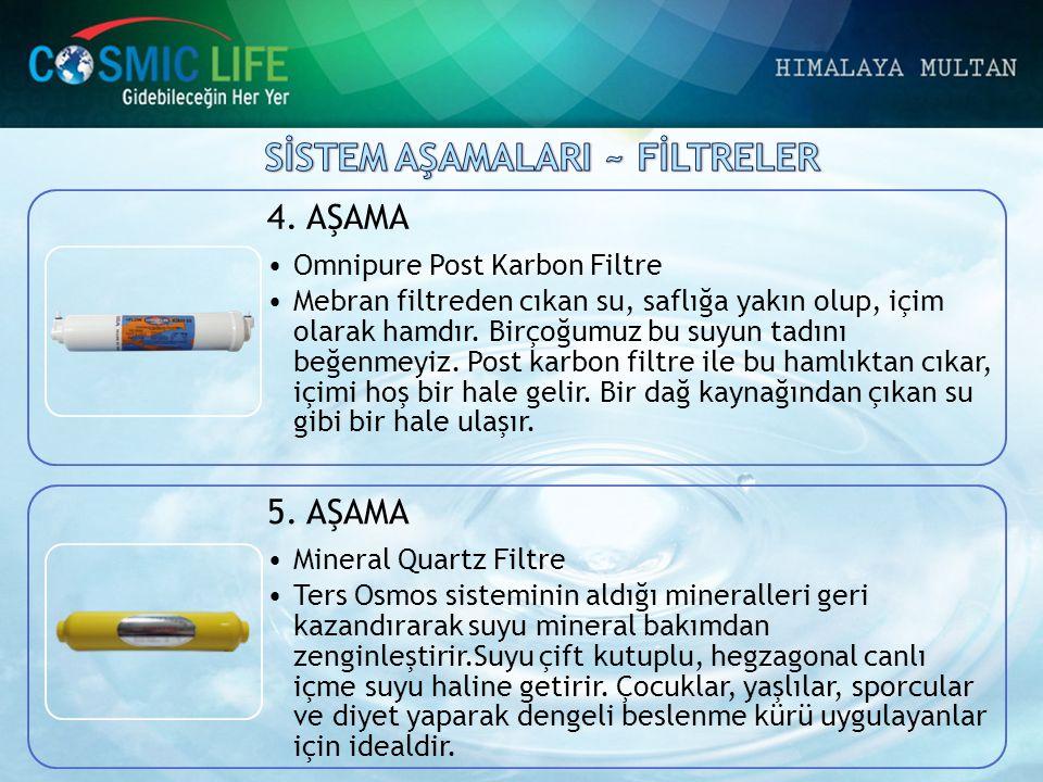 SİSTEM AŞAMALARI ~ FİLTRELER