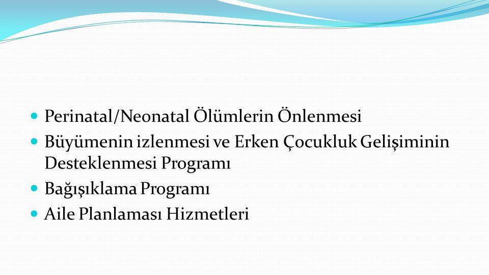 Perinatal/Neonatal Ölümlerin Önlenmesi