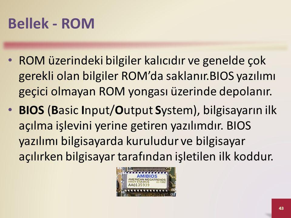 Bellek - ROM