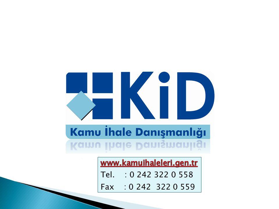 www.kamuihaleleri.gen.tr Tel. : 0 242 322 0 558 Fax : 0 242 322 0 559