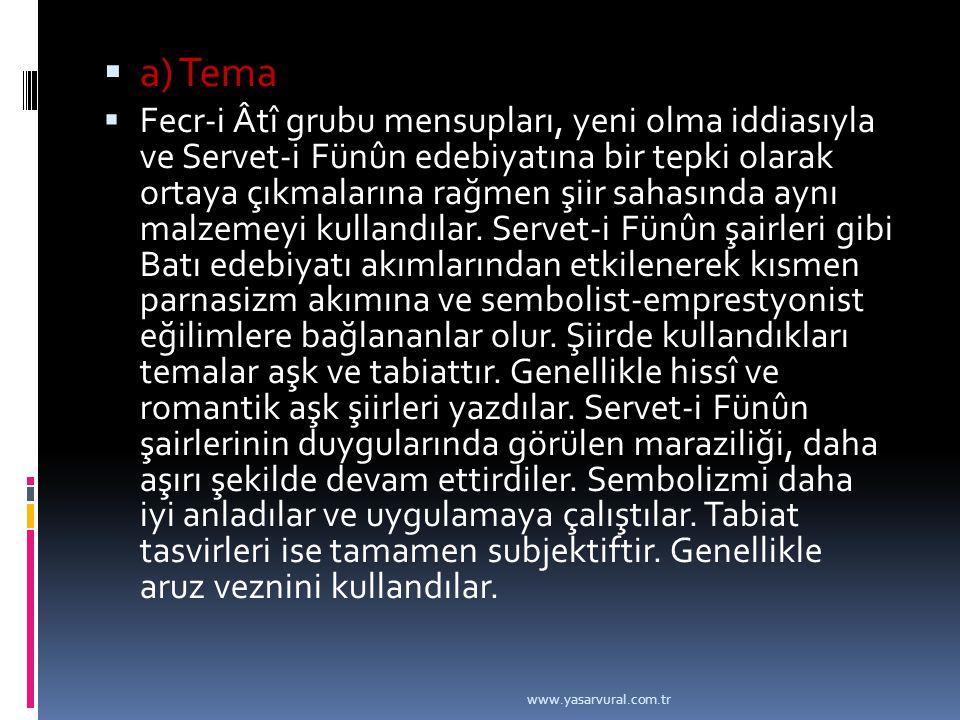a) Tema