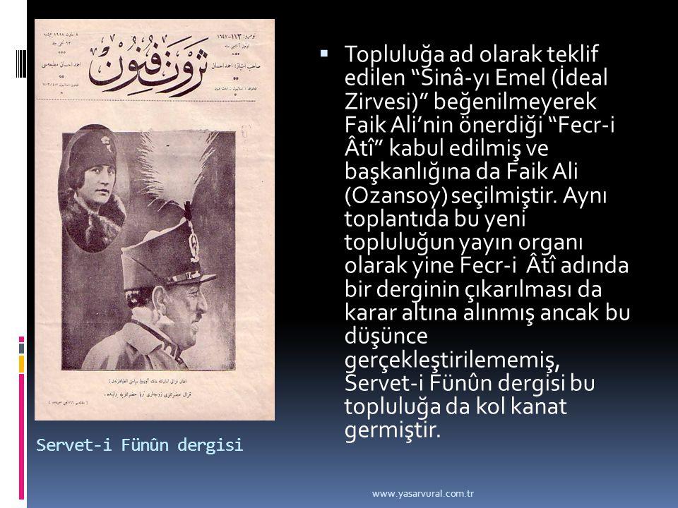 Servet-i Fünûn dergisi