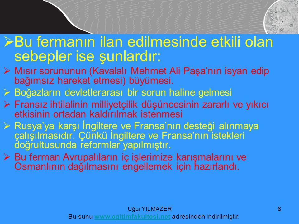 Bu sunu www.egitimfakultesi.net adresinden indirilmiştir.