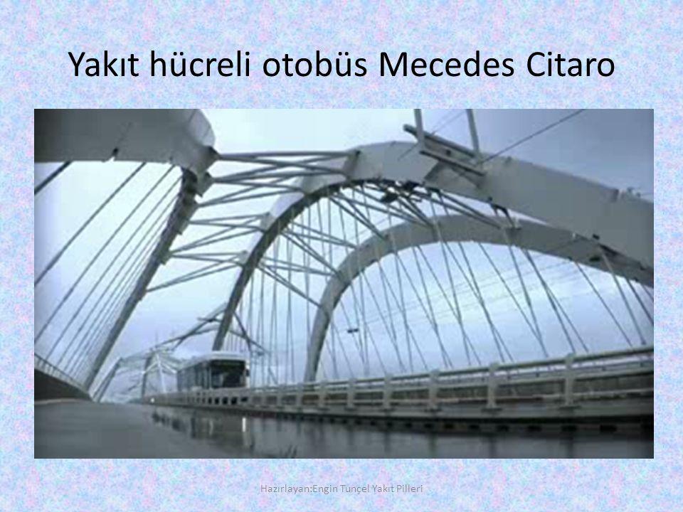 Yakıt hücreli otobüs Mecedes Citaro