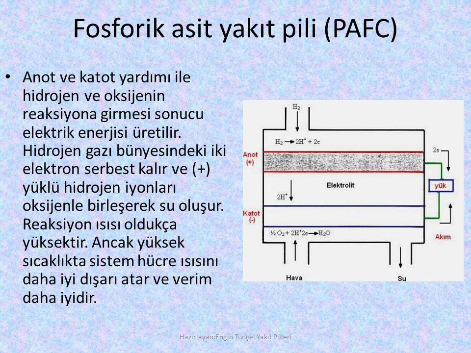 Fosforik asit yakıt pili (PAFC)