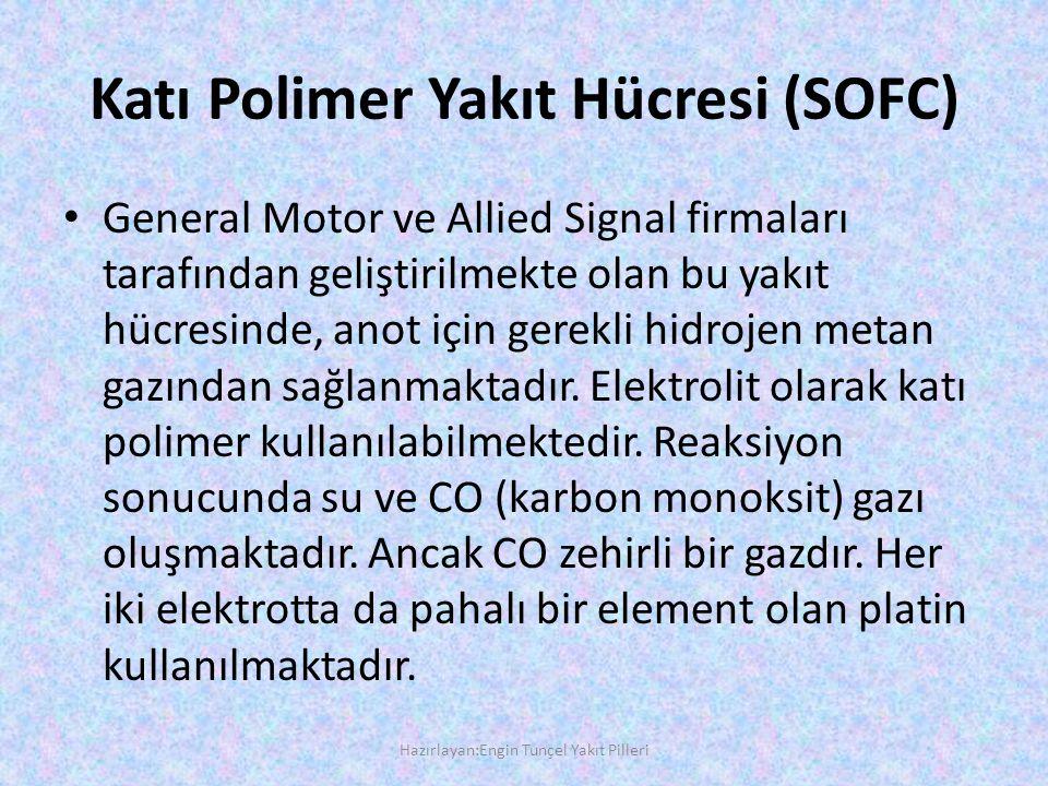 Katı Polimer Yakıt Hücresi (SOFC)