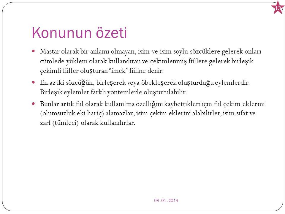 Kaynakça: Türk dili Muharrem Ergin