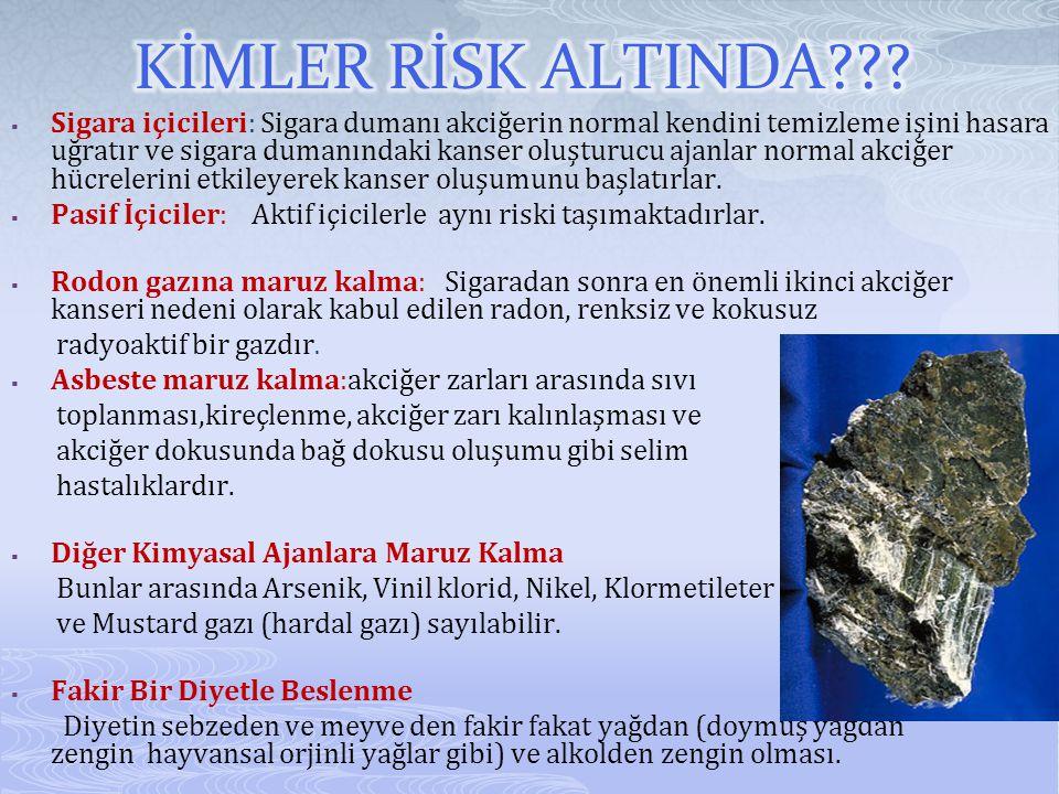 KİMLER RİSK ALTINDA