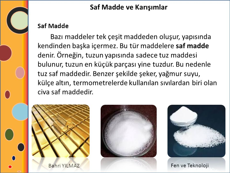 Saf Madde