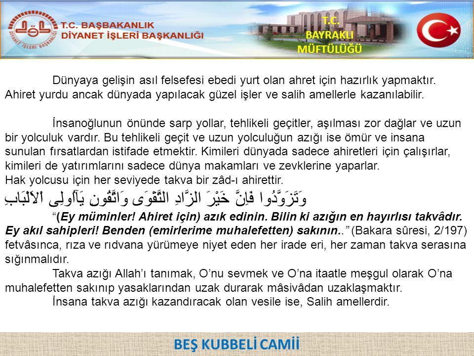 T.C. BAYRAKLI MÜFTÜLÜĞÜ