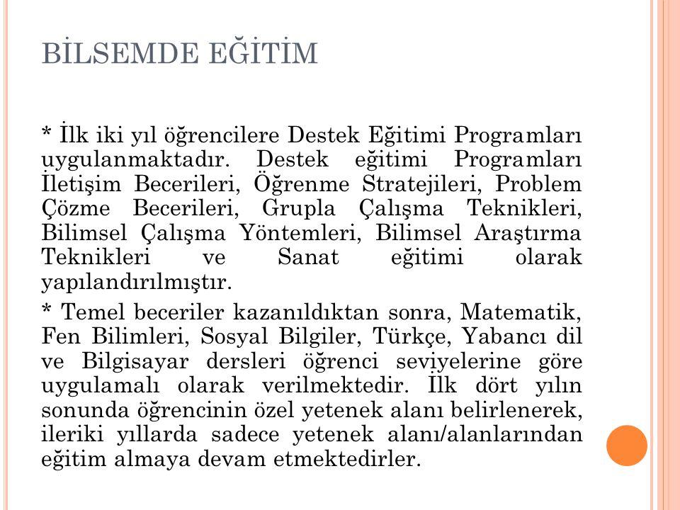 BİLSEMDE EĞİTİM