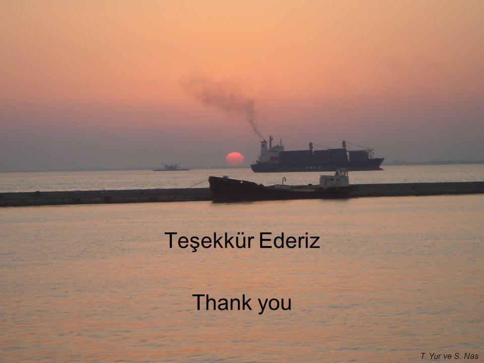 Teşekkür Ederiz Thank you T. Yur ve S. Nas