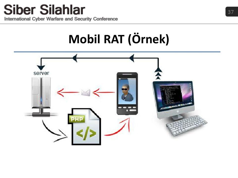 Mobil RAT (Örnek)