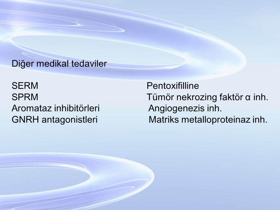 Diğer medikal tedaviler