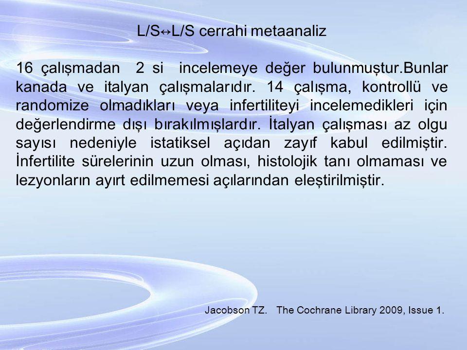 L/S↔L/S cerrahi metaanaliz