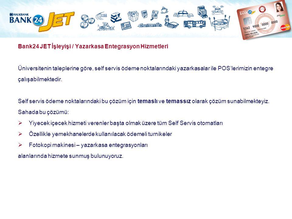 Bank24 JET İşleyişi / Yazarkasa Entegrasyon Hizmetleri