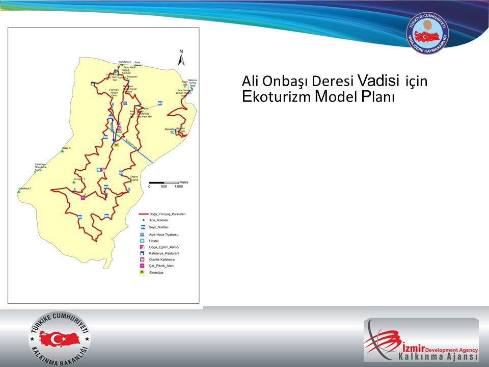Ali Onbaşı Deresi Vadisi için Ekoturizm Model Planı