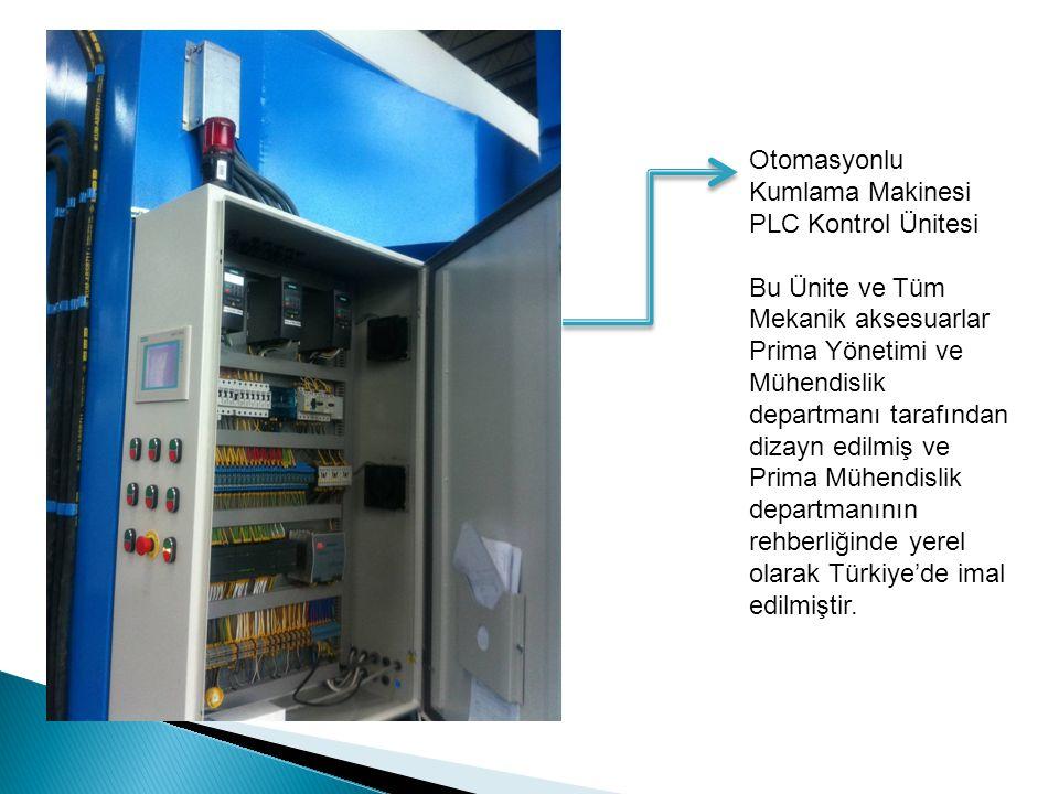 Otomasyonlu Kumlama Makinesi. PLC Kontrol Ünitesi. Bu Ünite ve Tüm.